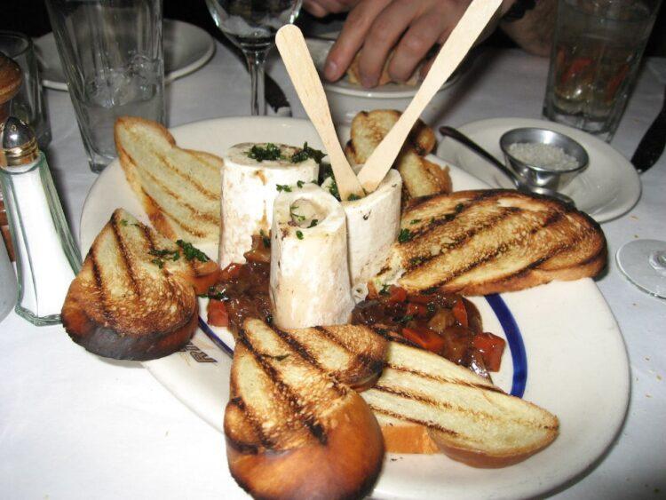 Bone marrow and oxtail marmalade