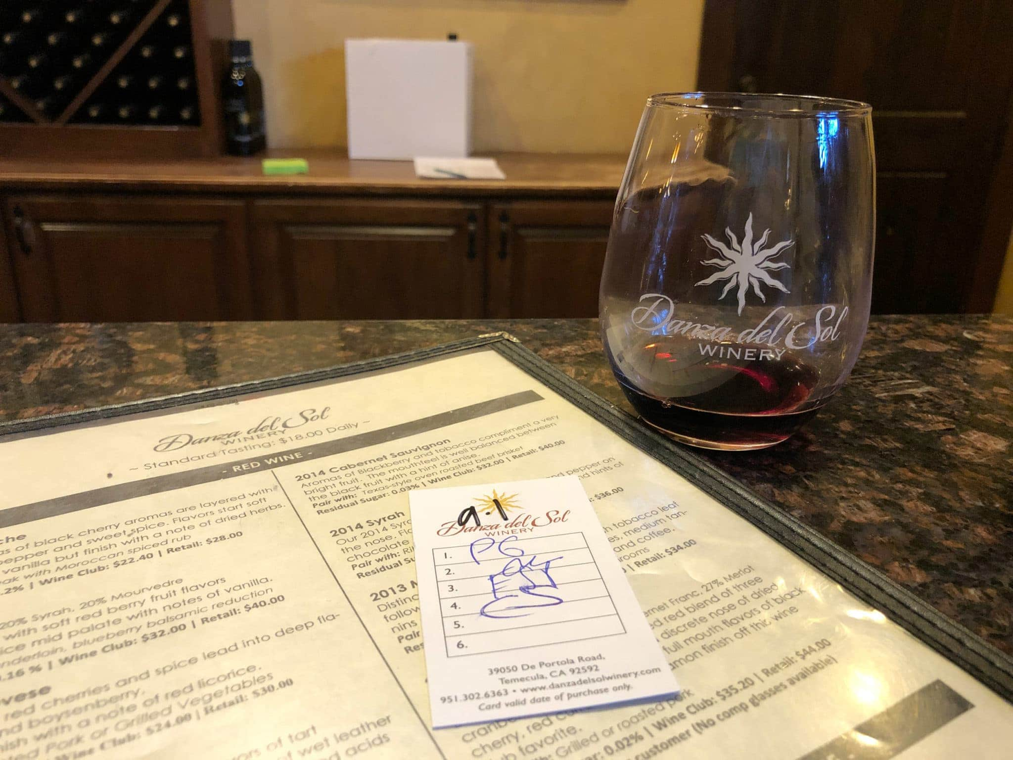 Wine tasting in Temecula, California