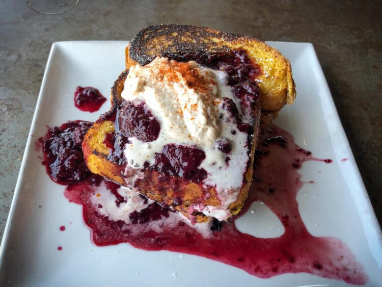 French toast at 1909