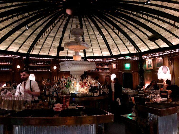 The circular bar at Raised by Wolves