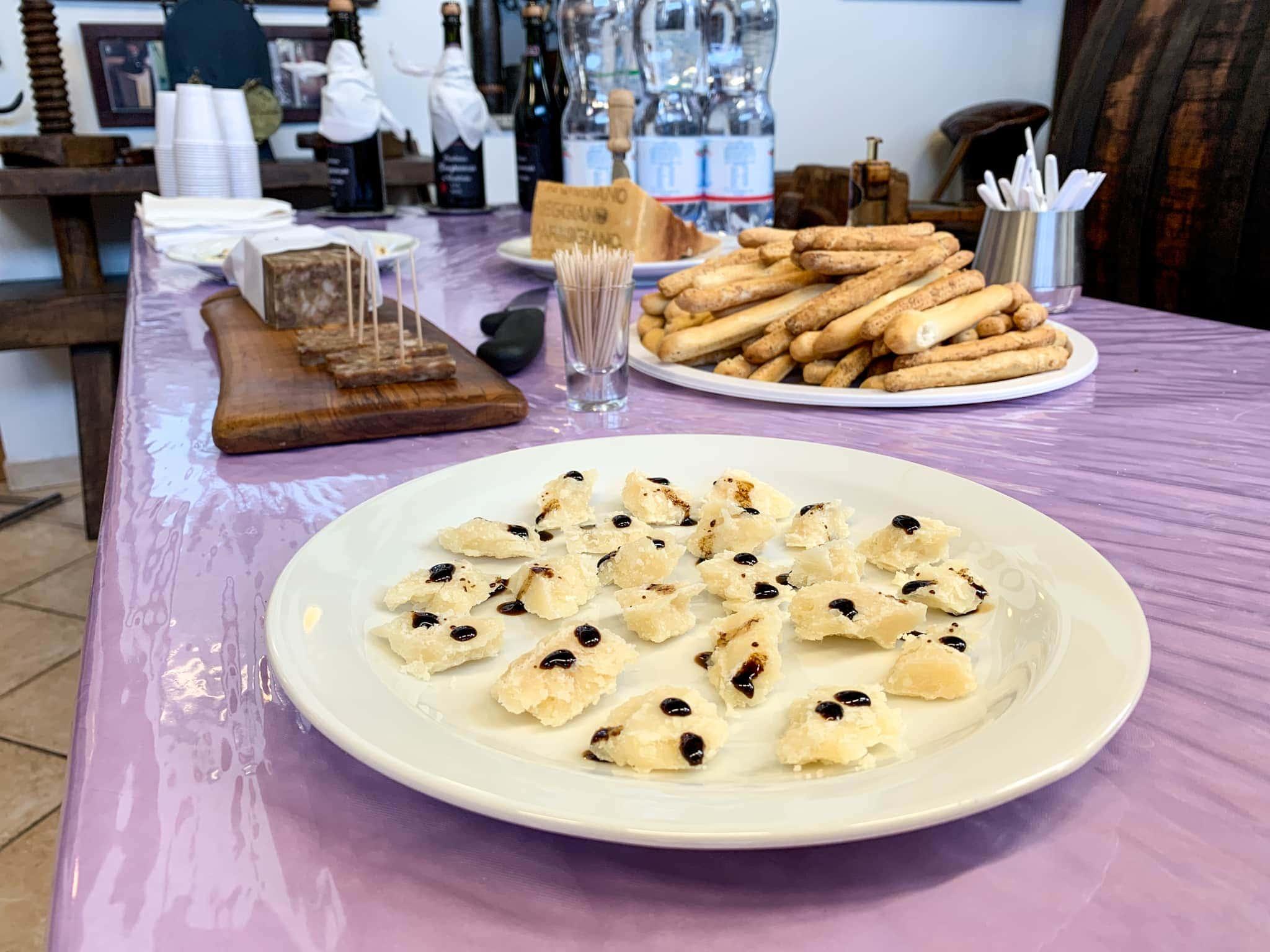 Balsamic and Parmigiano Reggiano