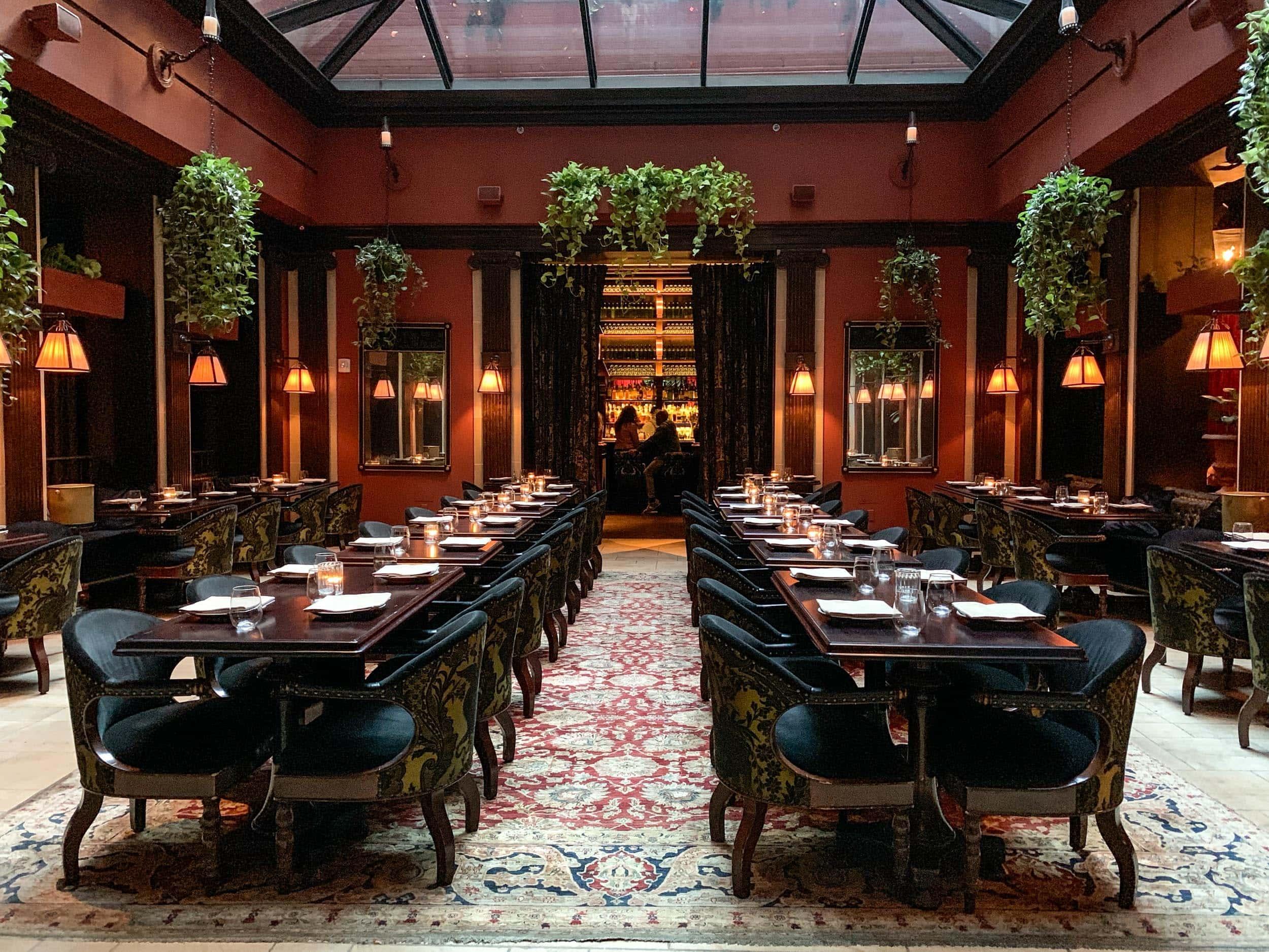 Atrium at NoMad Hotel in New York City
