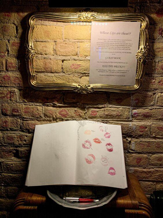 Wall of kisses