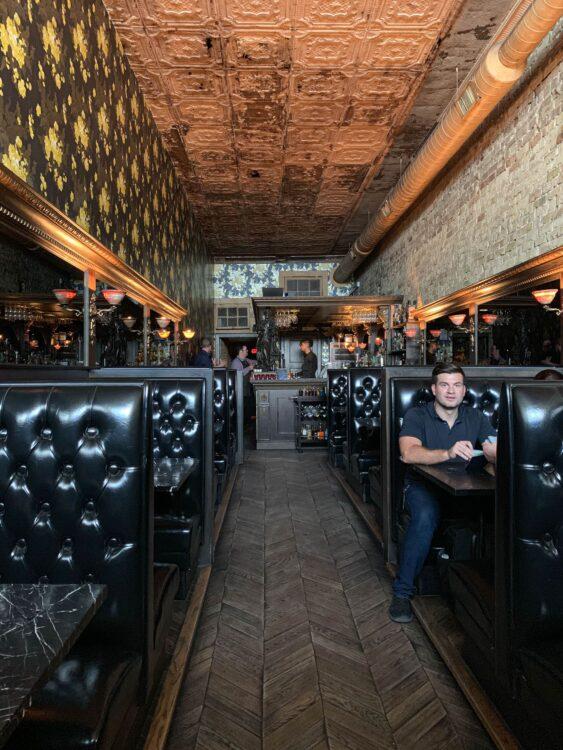 Midnight Cowboy, a hidden bar on 6th Street in Austin, TX