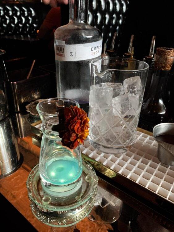 Mixing an Alaska-inspired Kaleidescope cocktail