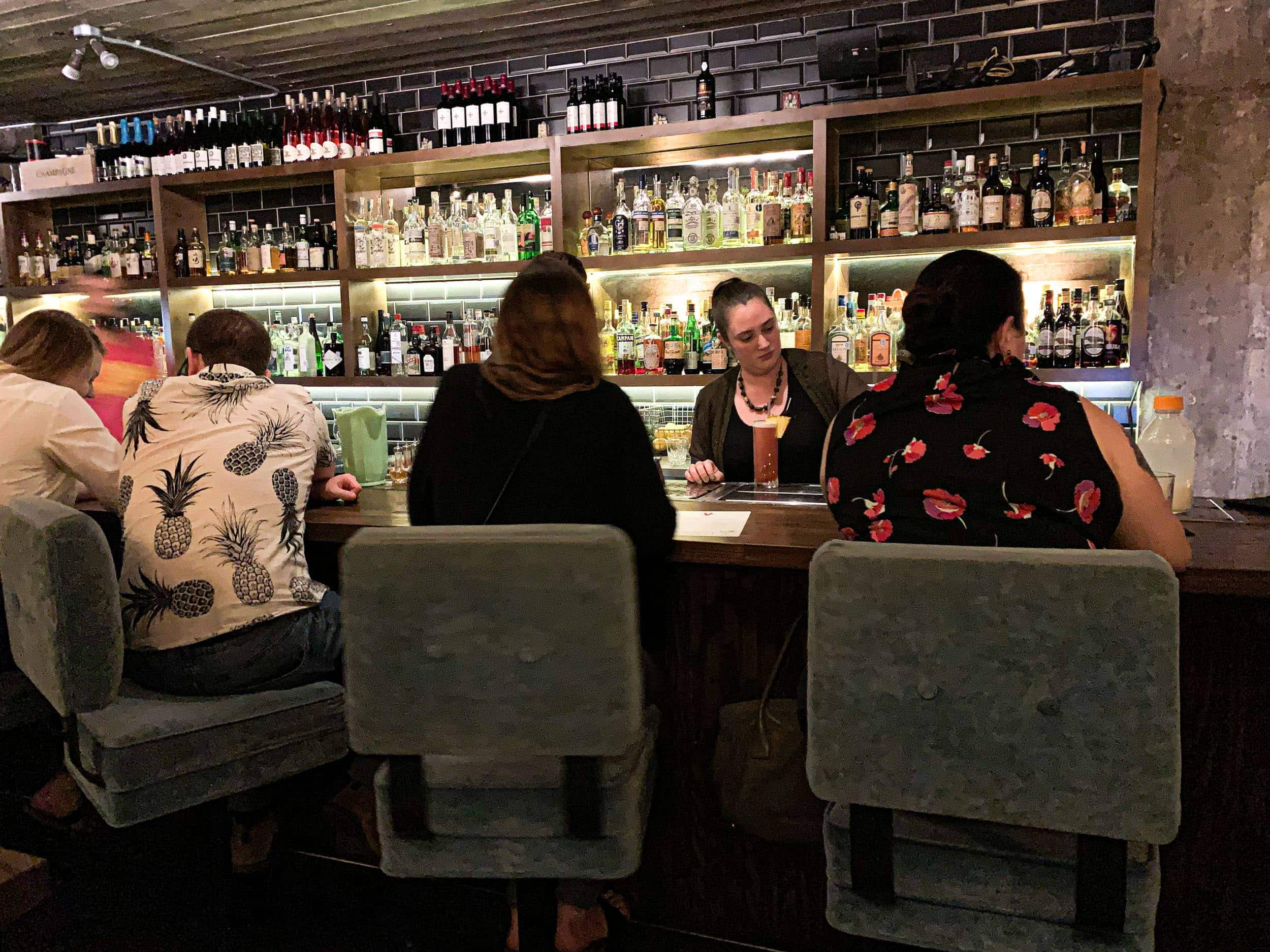 Small Victory is a hidden bar in downtown Austin