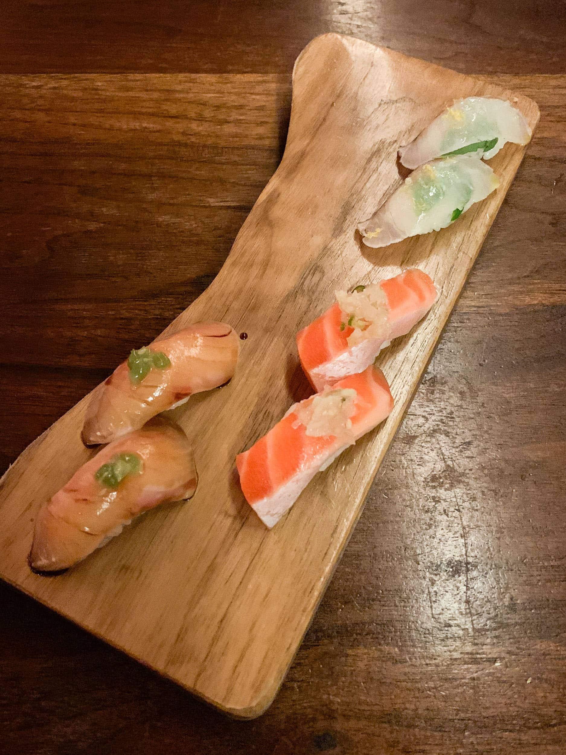 Sushi at Uchiko