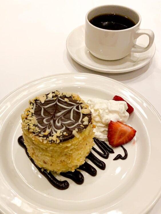 The original Boston Cream Pie is a quintessential Boston food experience