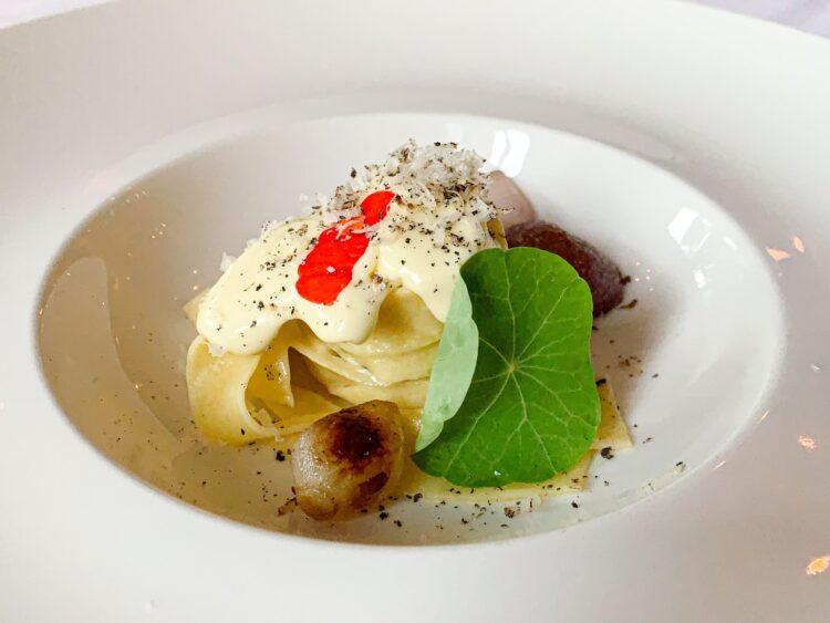 Lovage Tagliatelle pasta