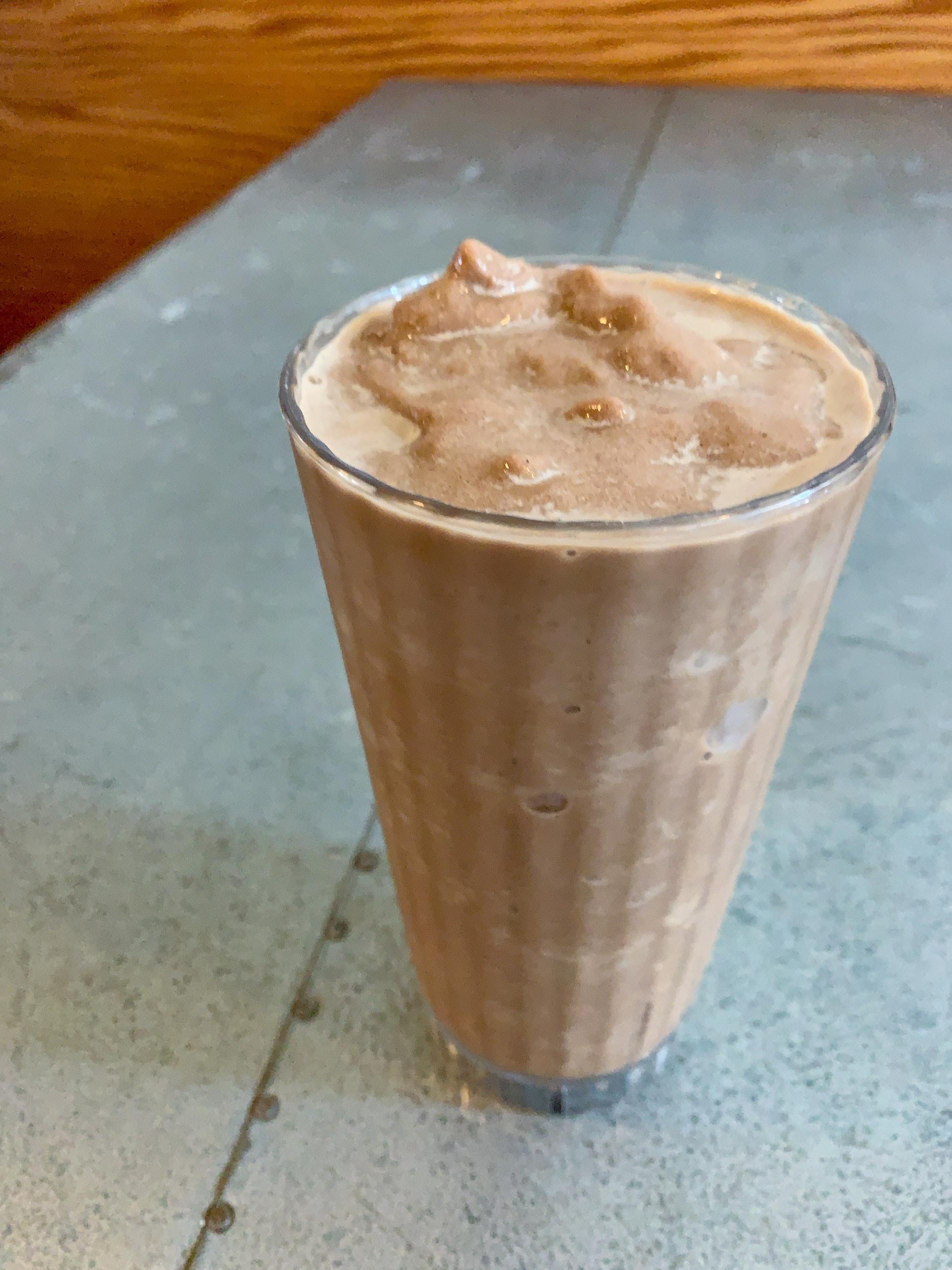 Chocolate chai shake