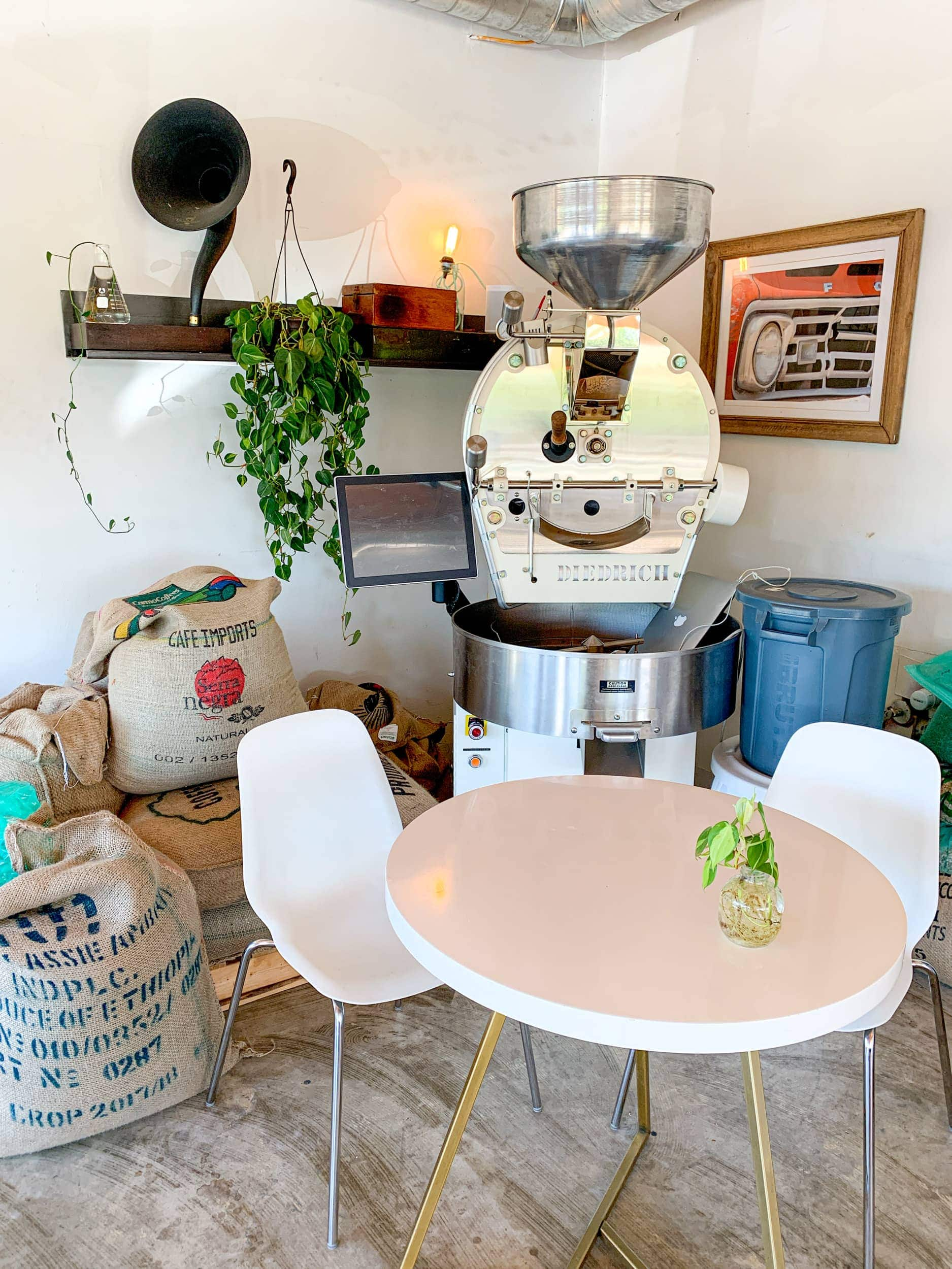 Inside Civil Goat Coffee Co.