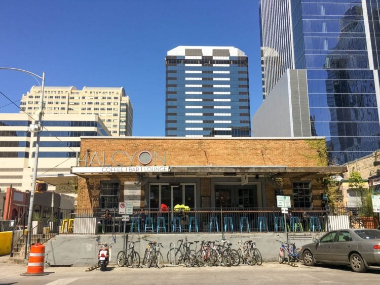 Halcyon is one of the best coffee shops in downtown Austin