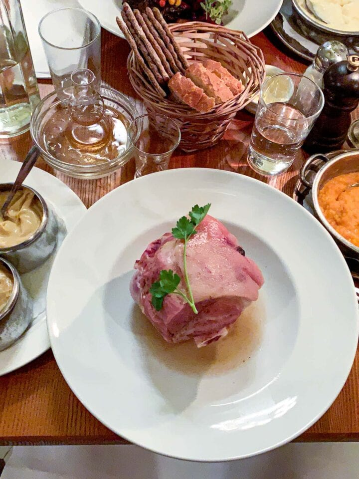 Dinner at Pelikan