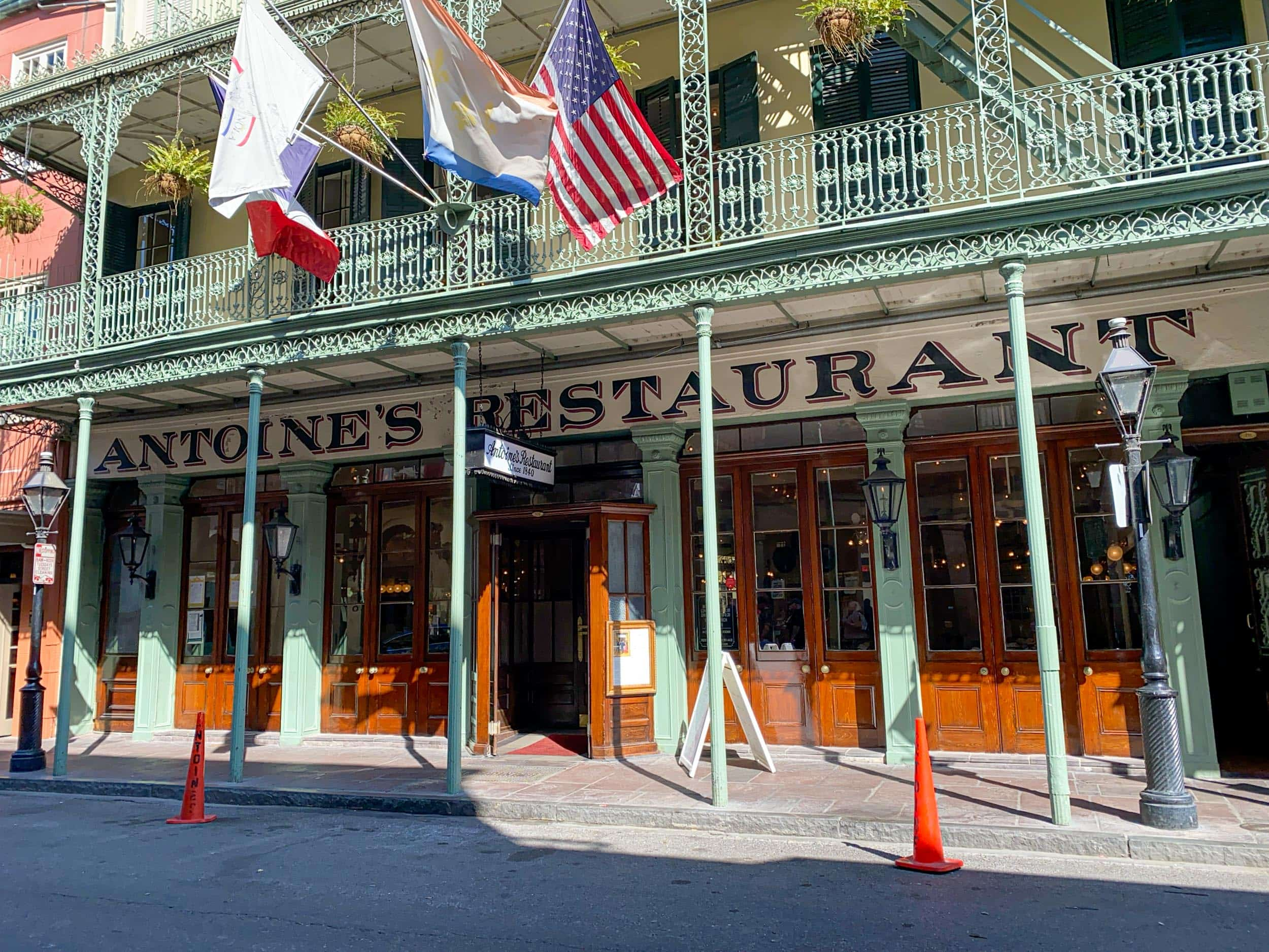 Antoine's is one of the best restaurants in New Orleans, LA