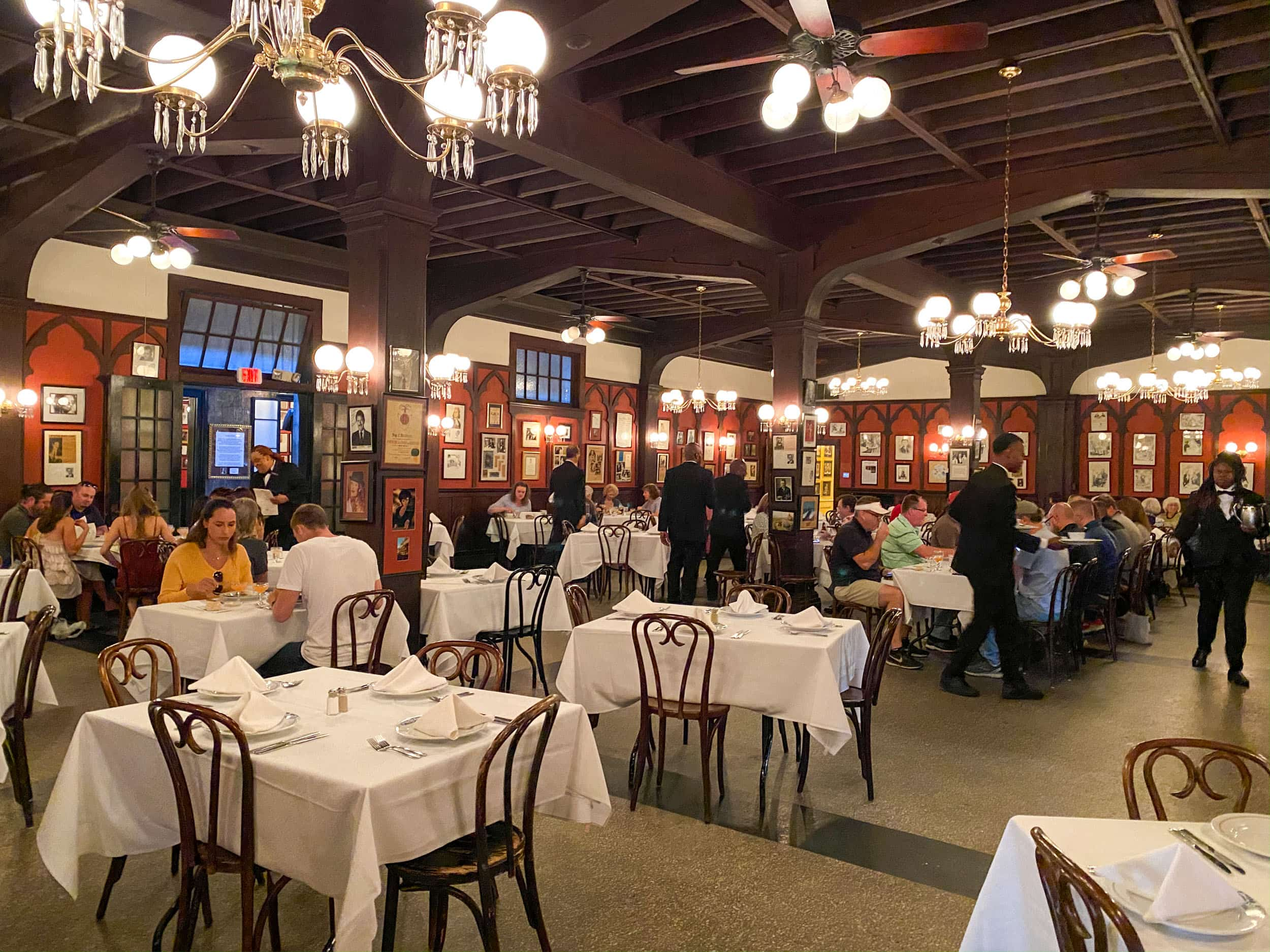 The Large Annex at Antoine's Restaurant New Orleans