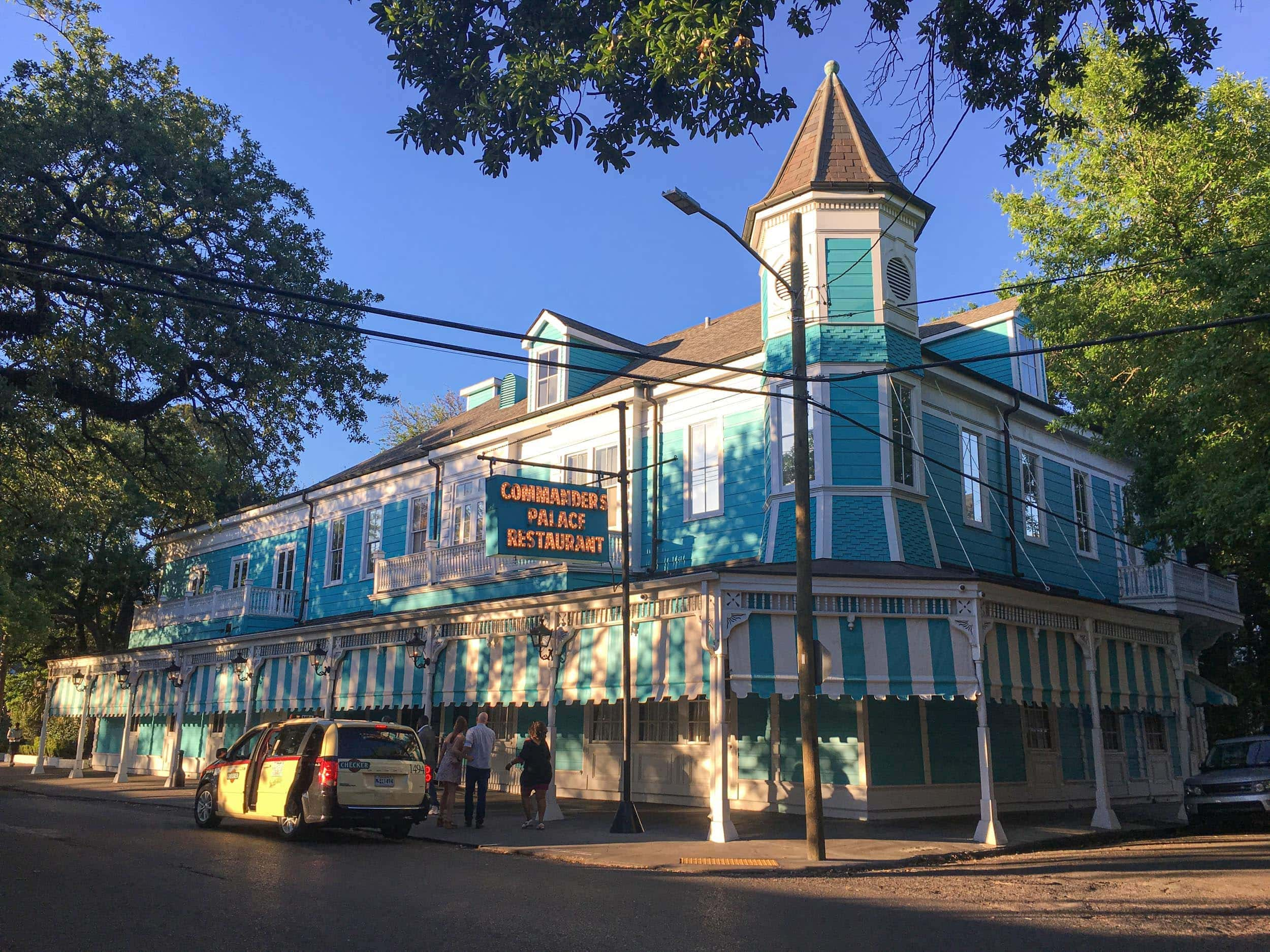 Commander's Palace is a widely recognized as one of the best restaurants in New Orleans