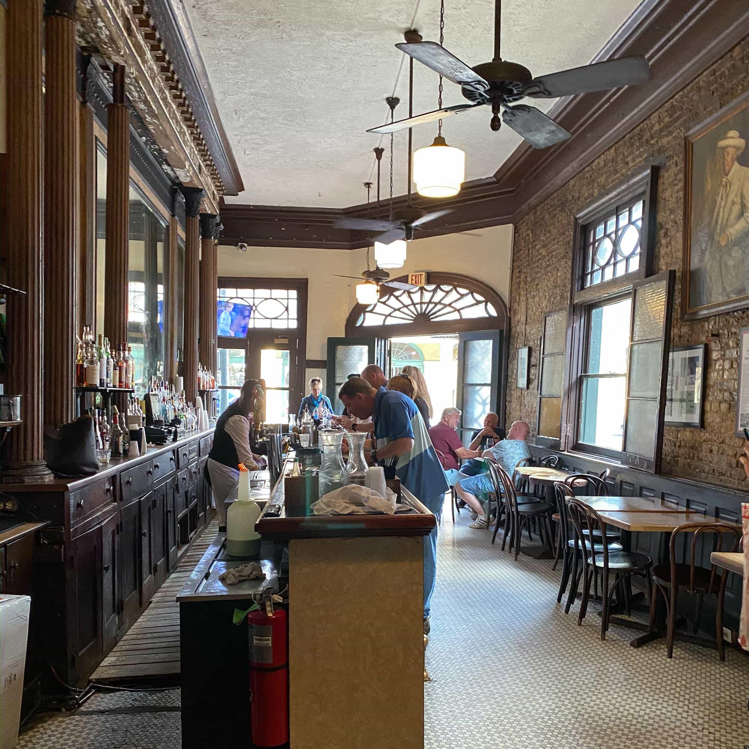 Tujague's bar