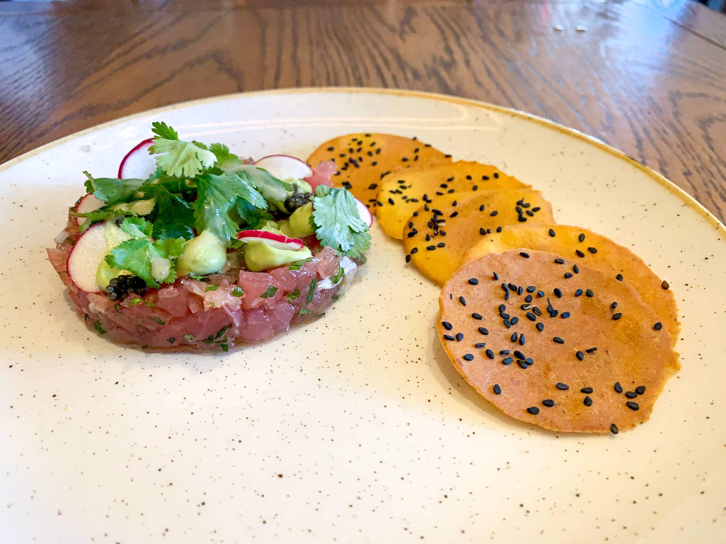 Tuna tartare at Compère Lapin