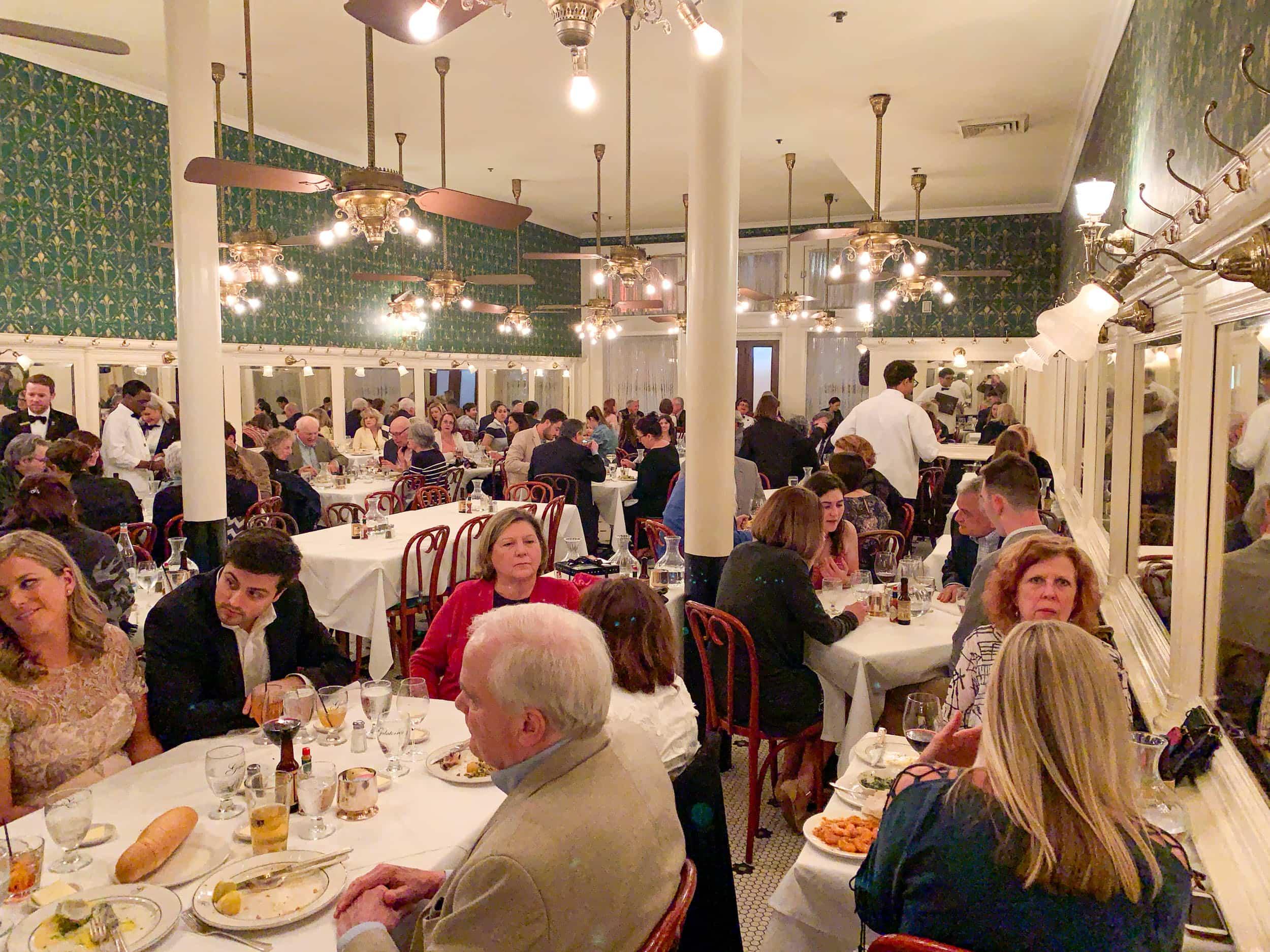 Galatoire's is the best restaurant on Bourbon Street