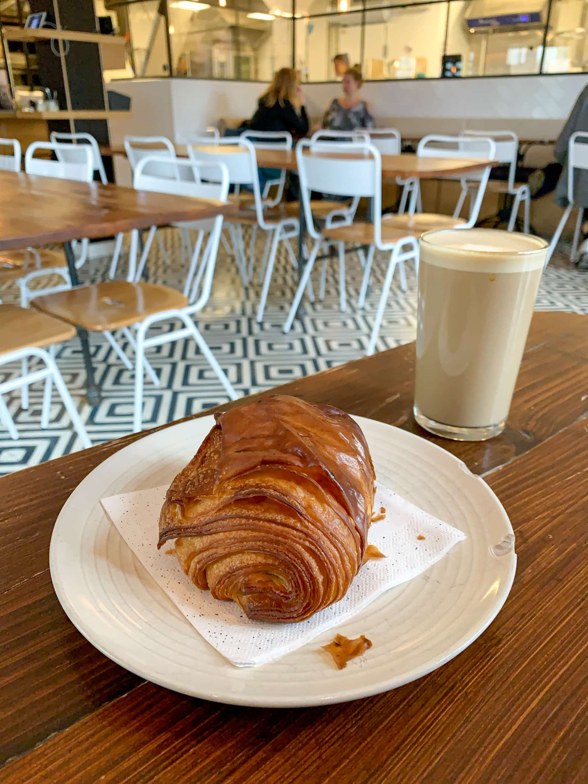 Pain au chocolat at Mirabelle Bakery