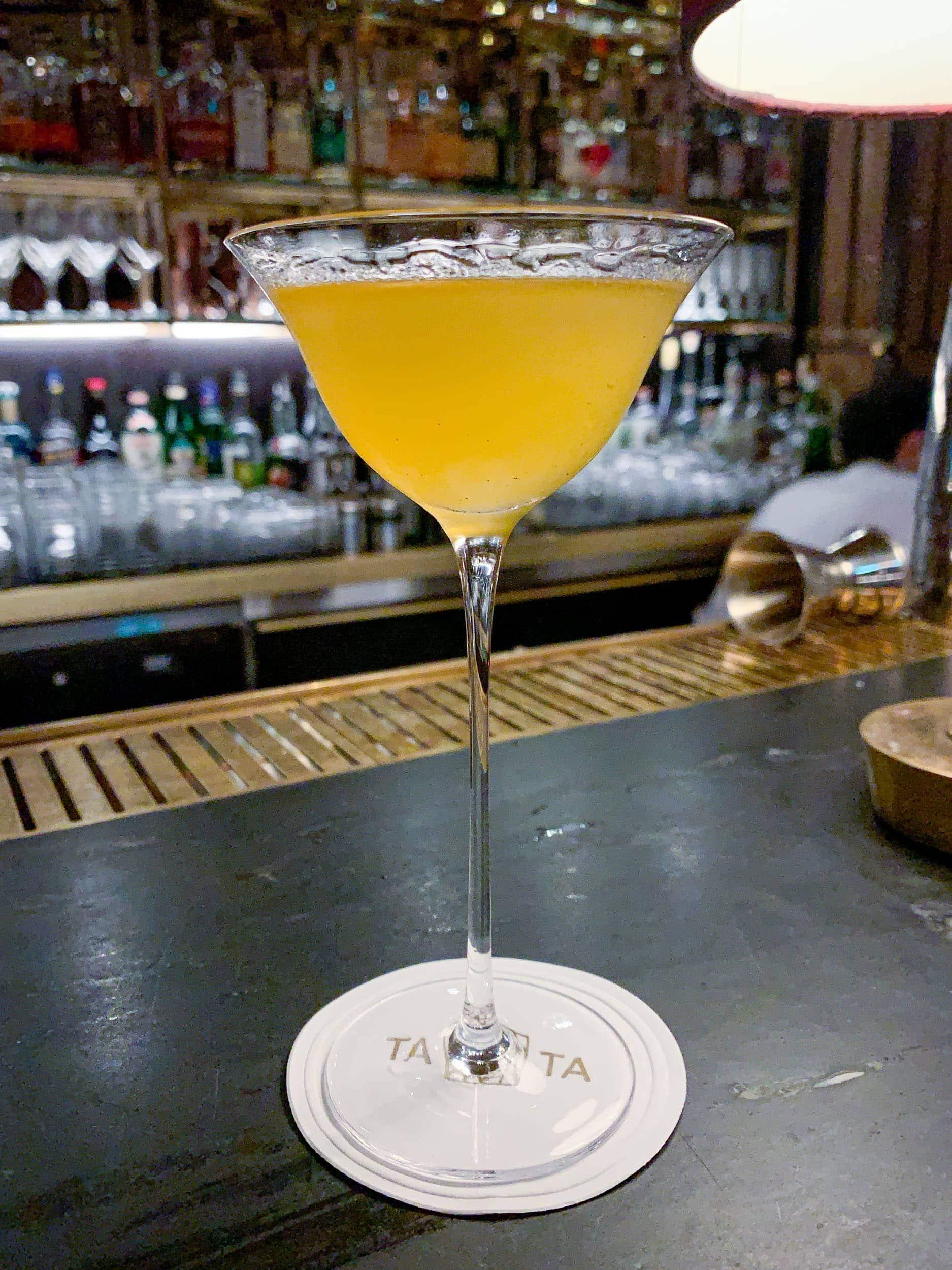 Empirical Gimlet at Tata Cocktail Bar