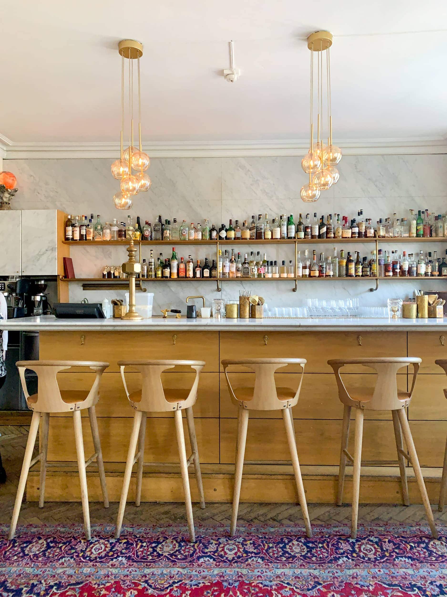 Ruby cocktail bar in Copenhagen