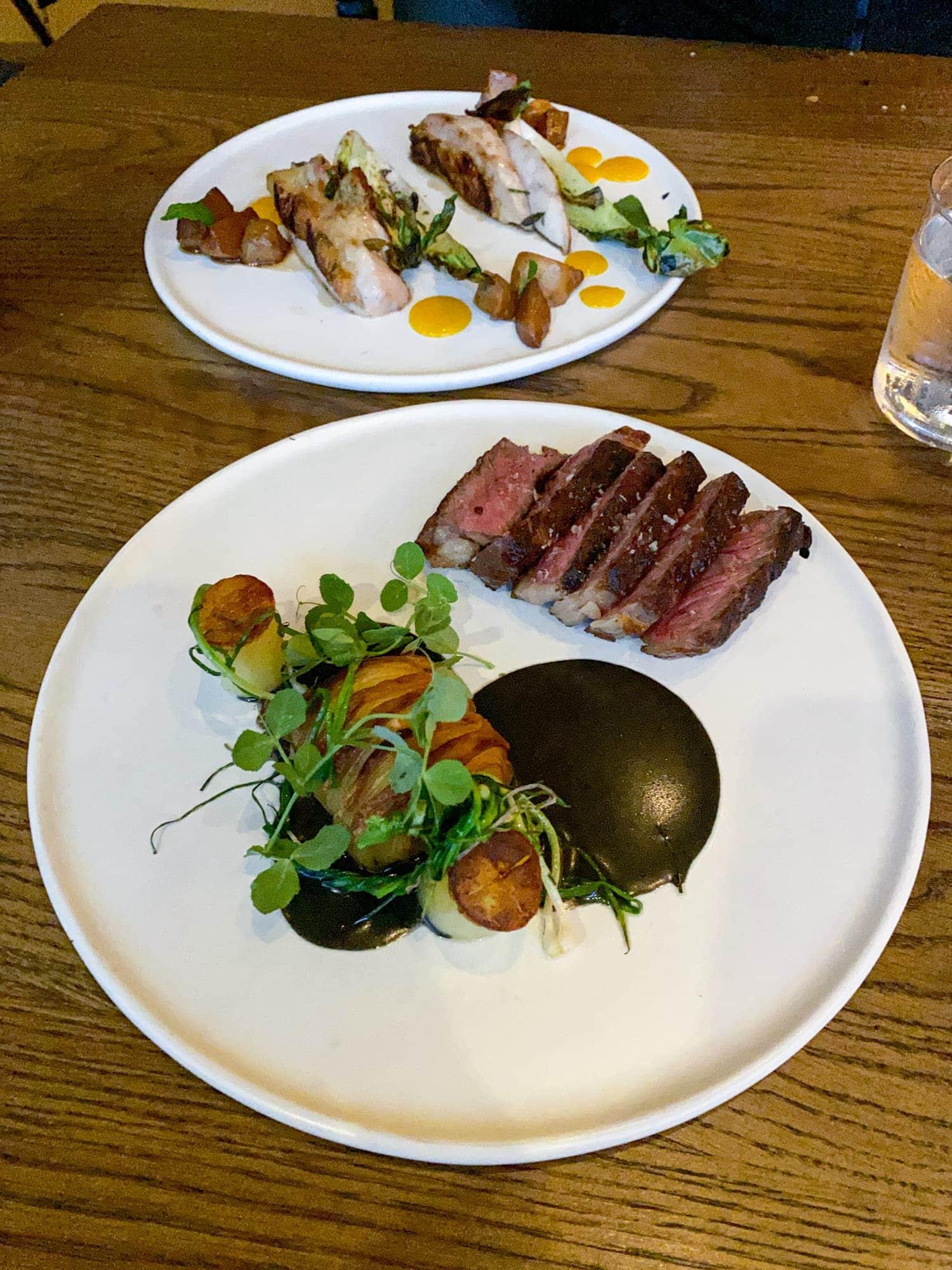 Wagyu NY strip steak