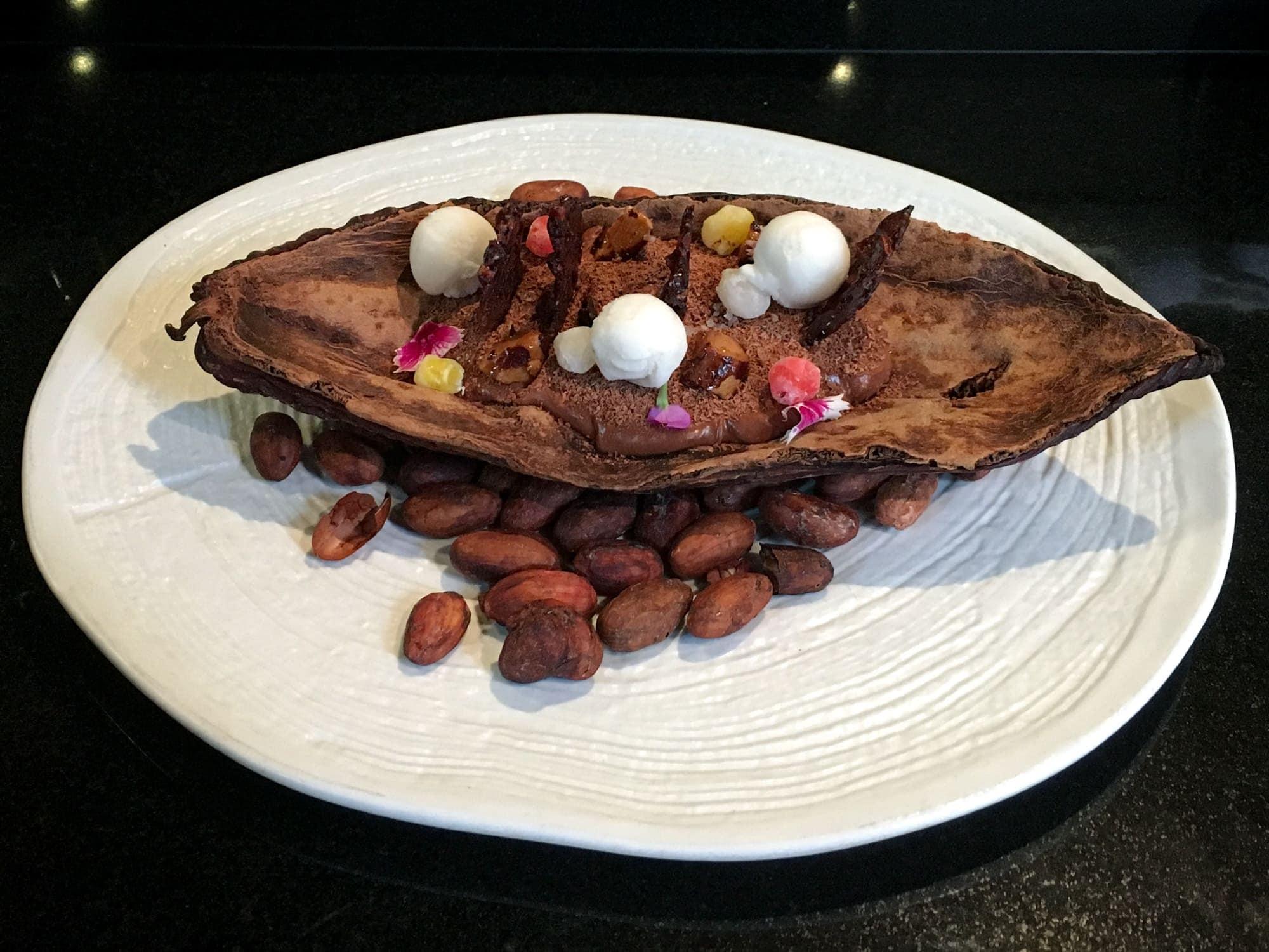 Cacao dessert