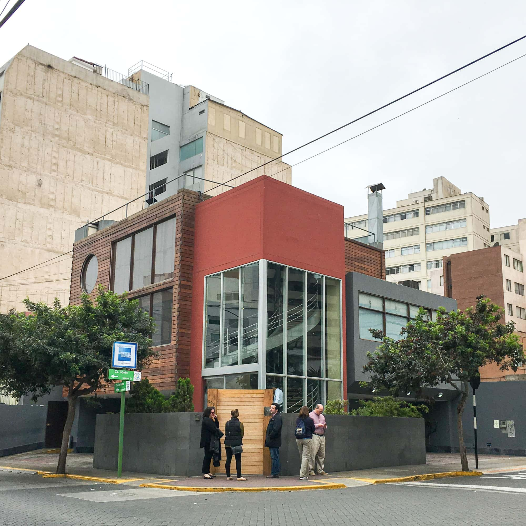 Maido restaurant in Miraflores, Lima