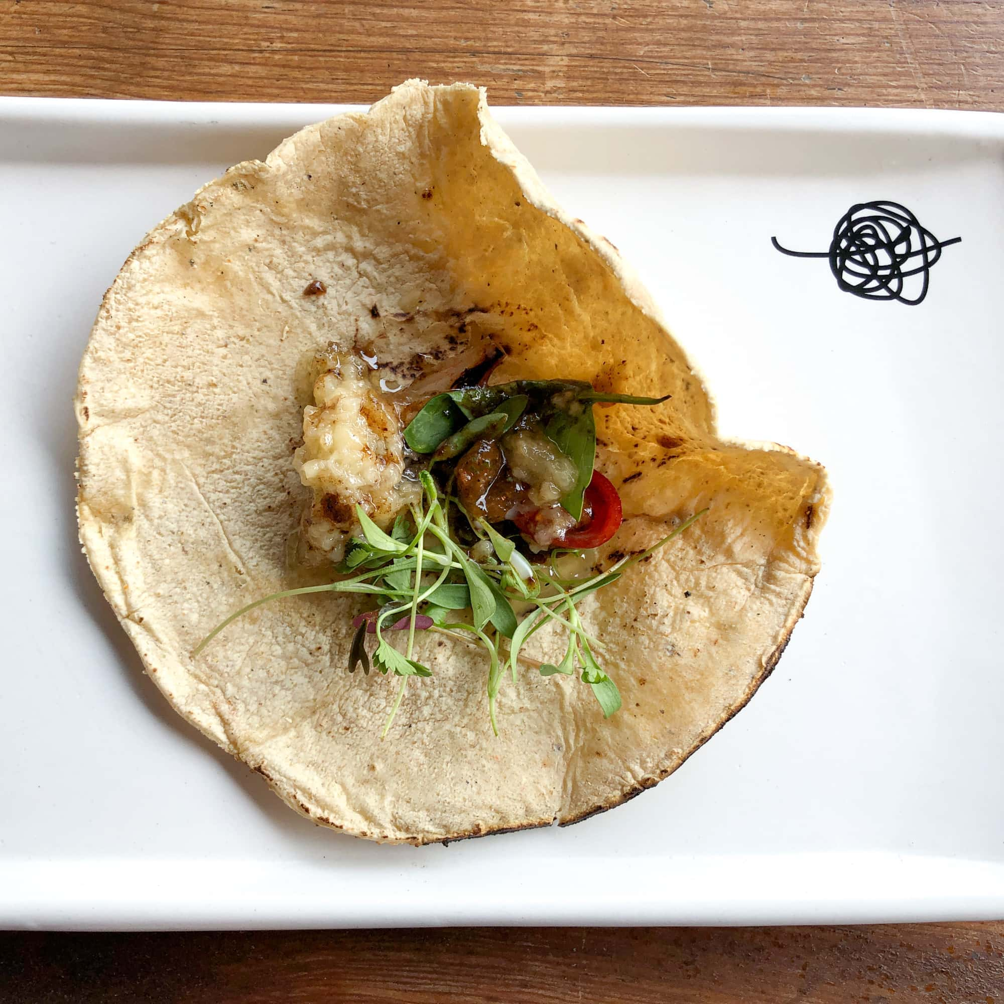 Bone marrow taco