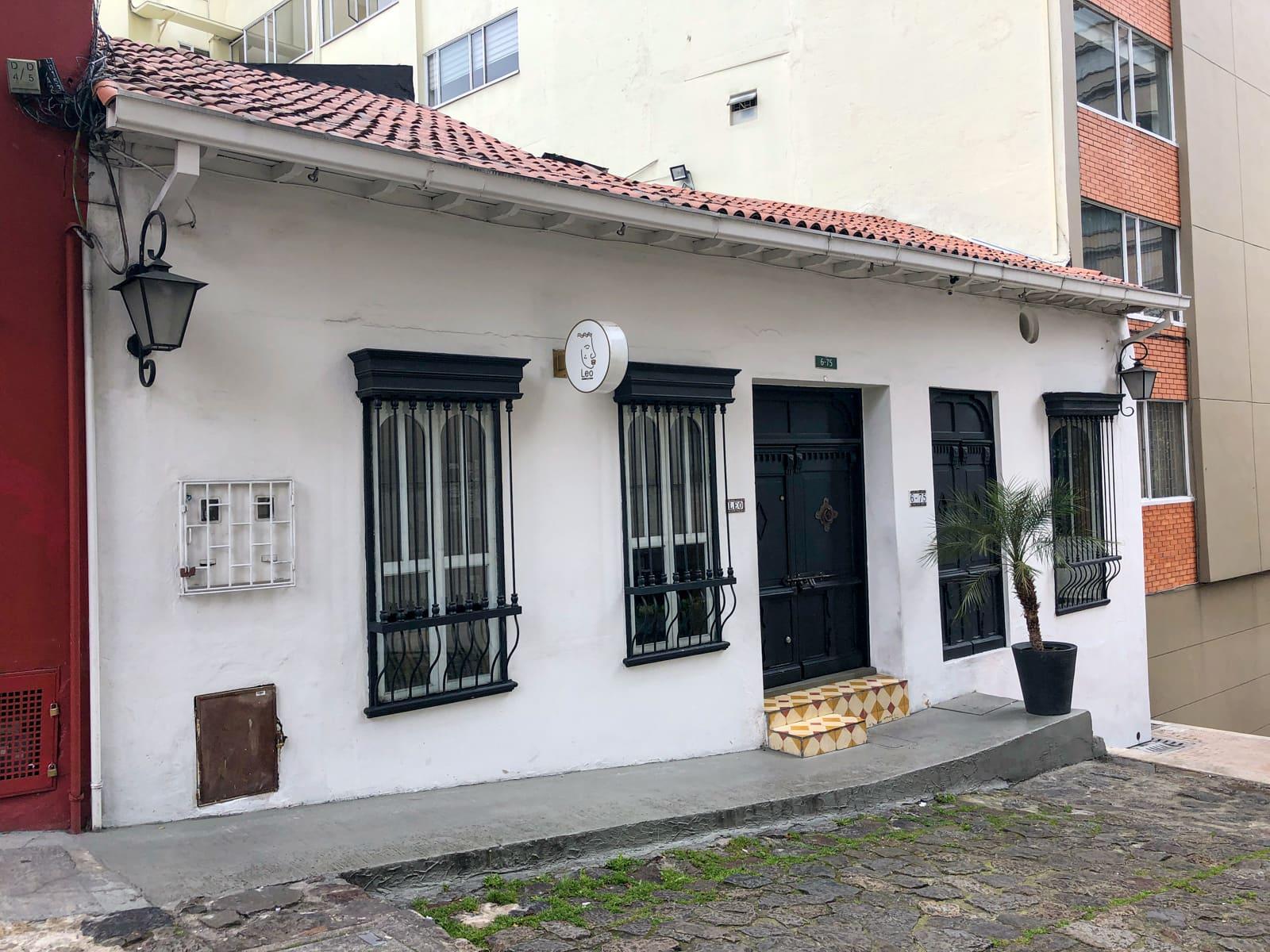 Leo restaurant in Bogota, Colombia