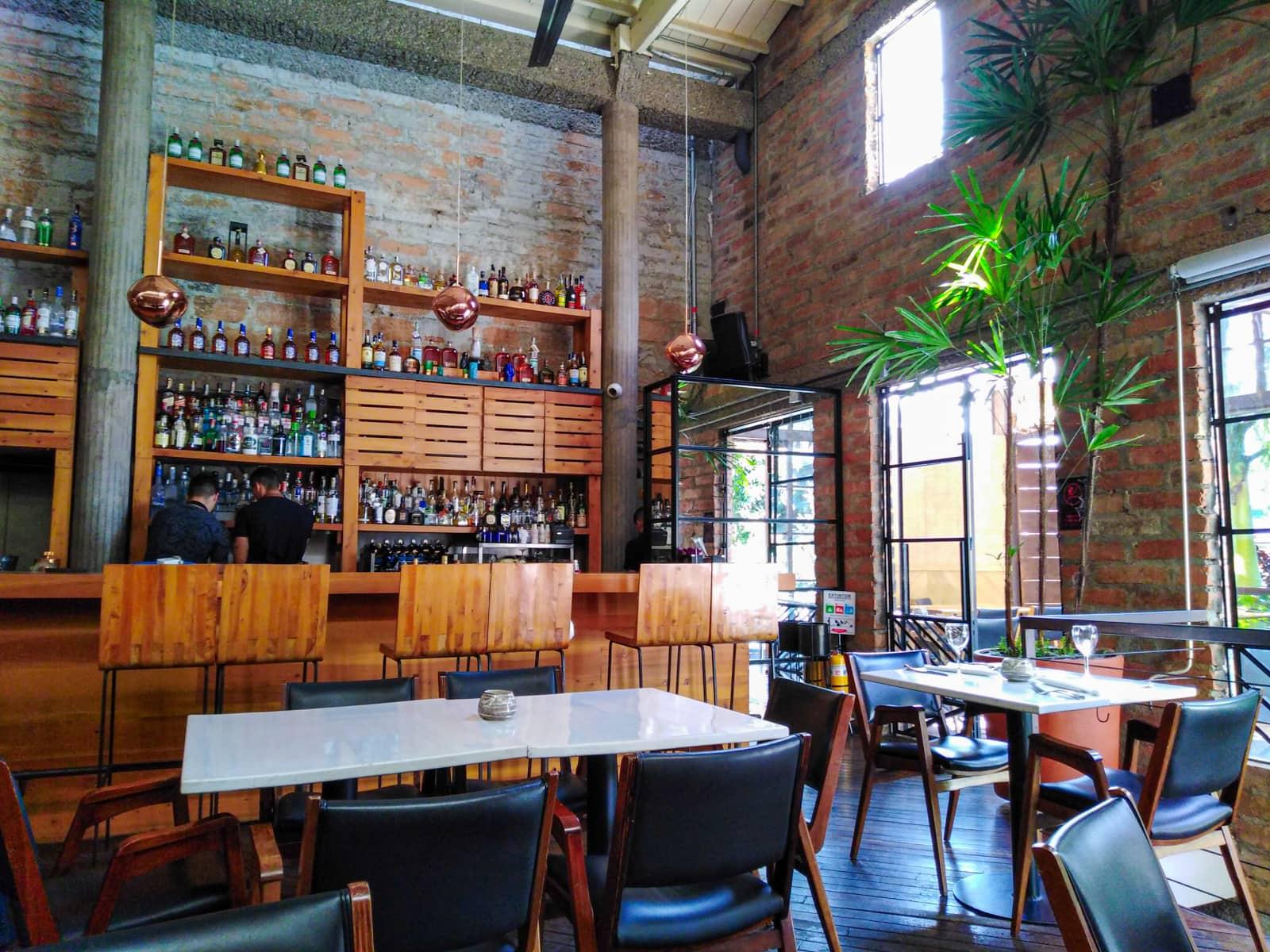 Bar inside Carmen