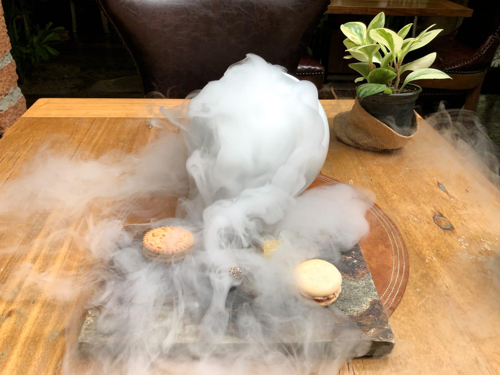 Dessert smoke show
