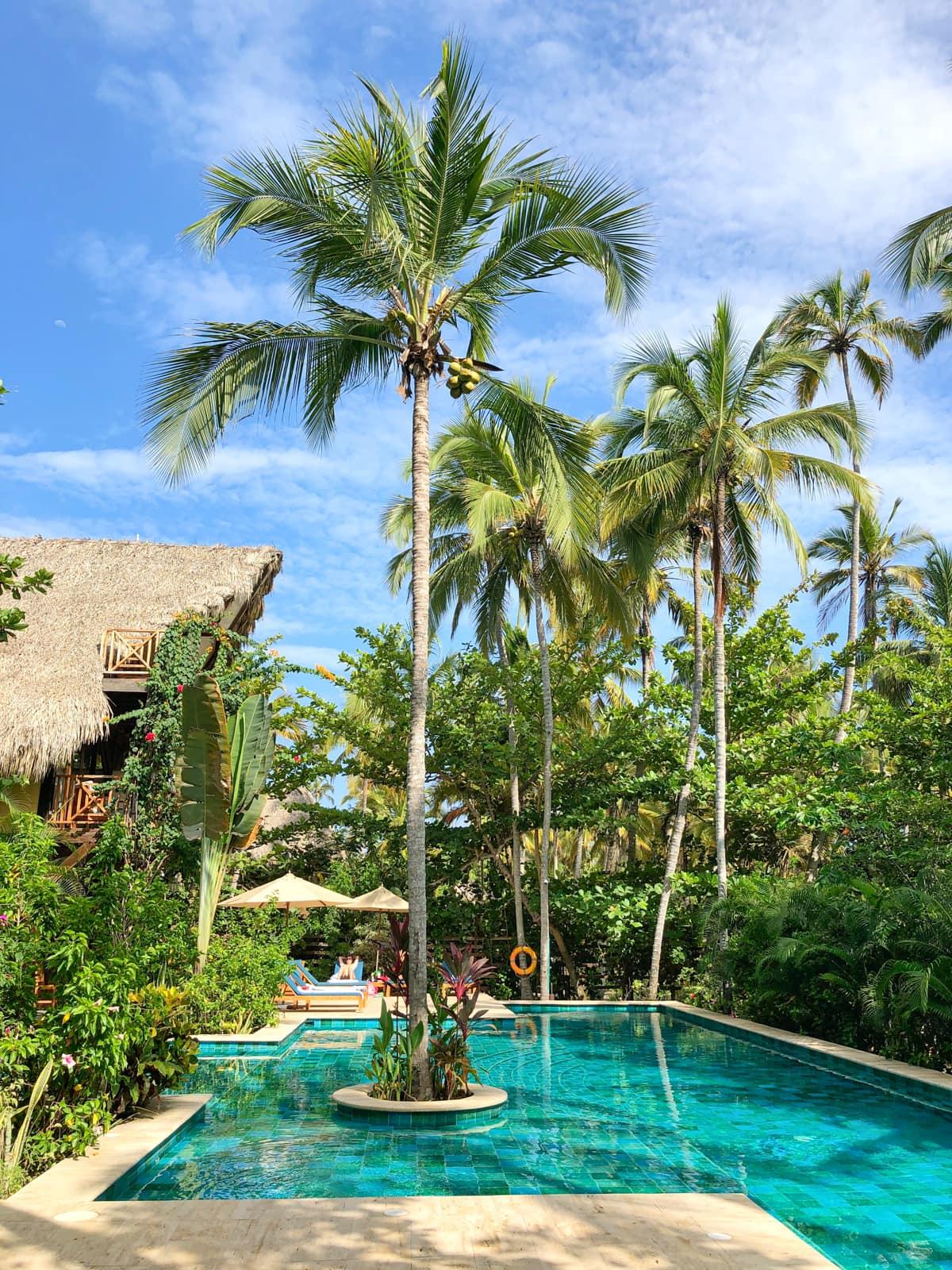 Cayena Beach Villa pool