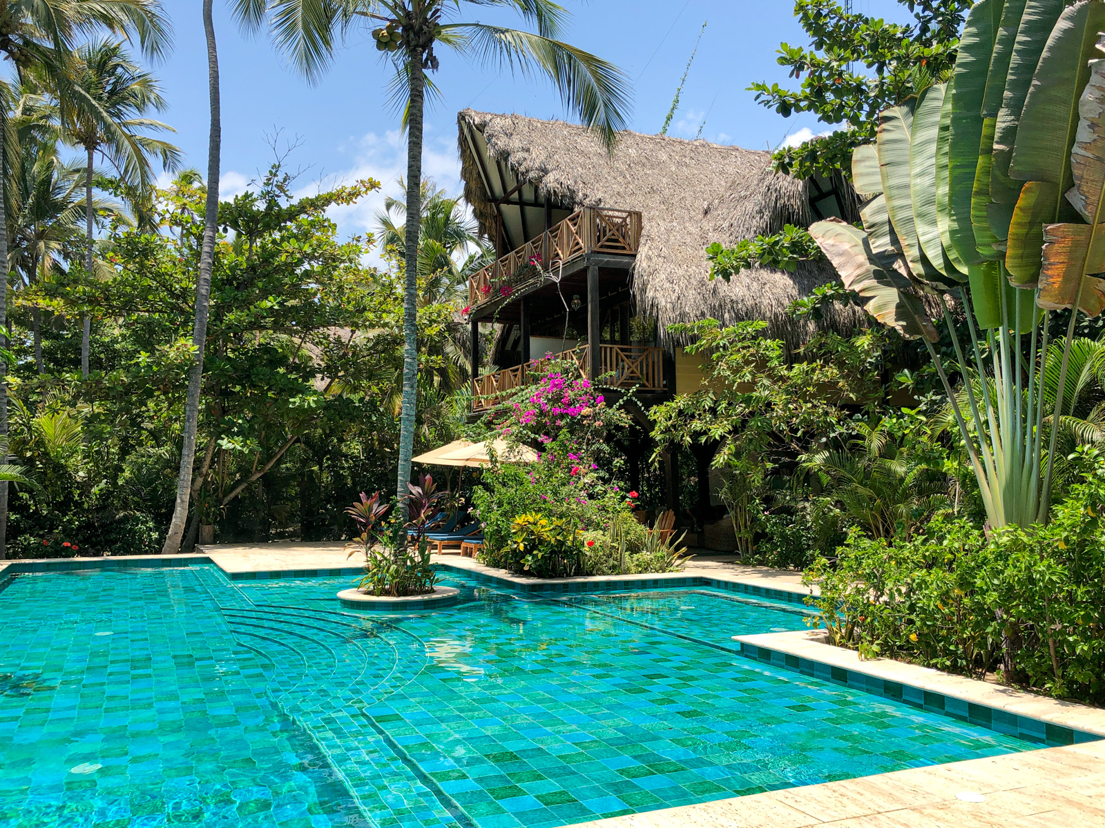 Pool at Cayena Beach Villa in Colombia