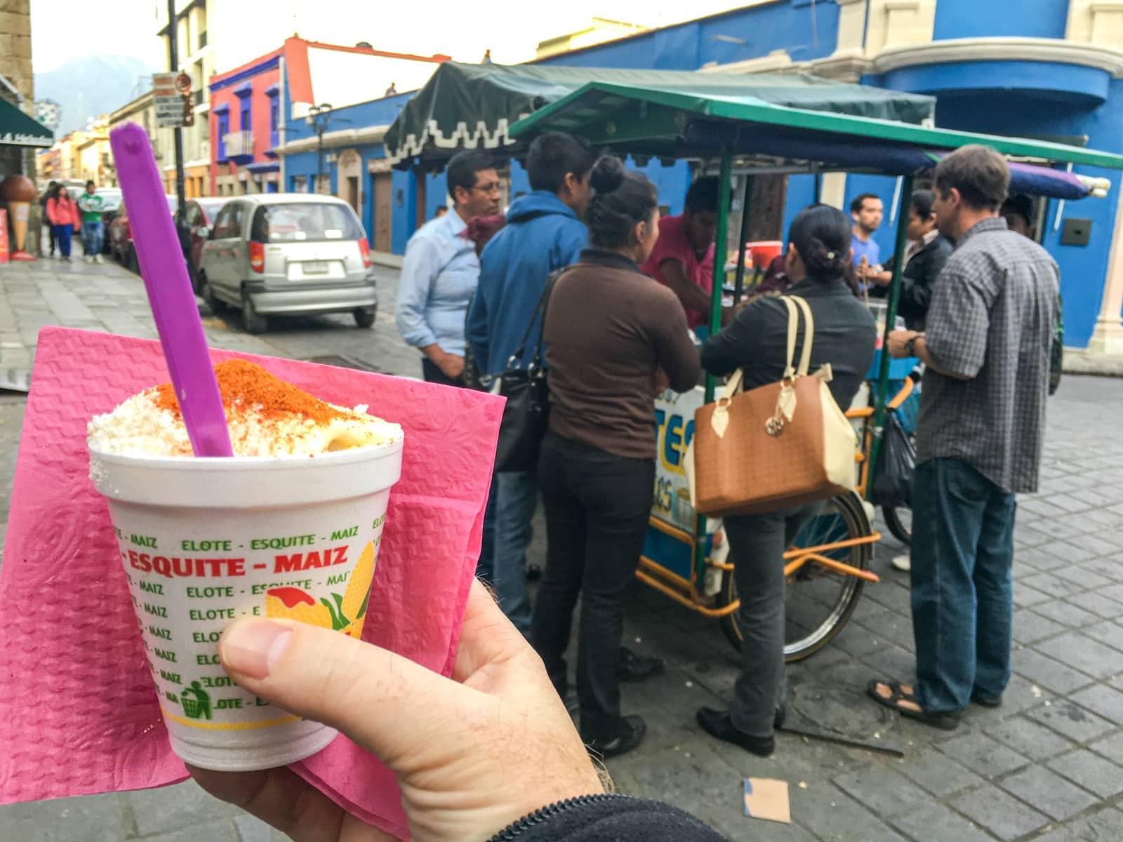 Elote, Mexican street corn