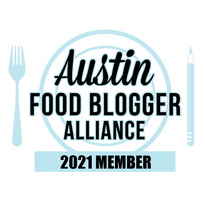 Austin Food Blogger Alliance 2021 member