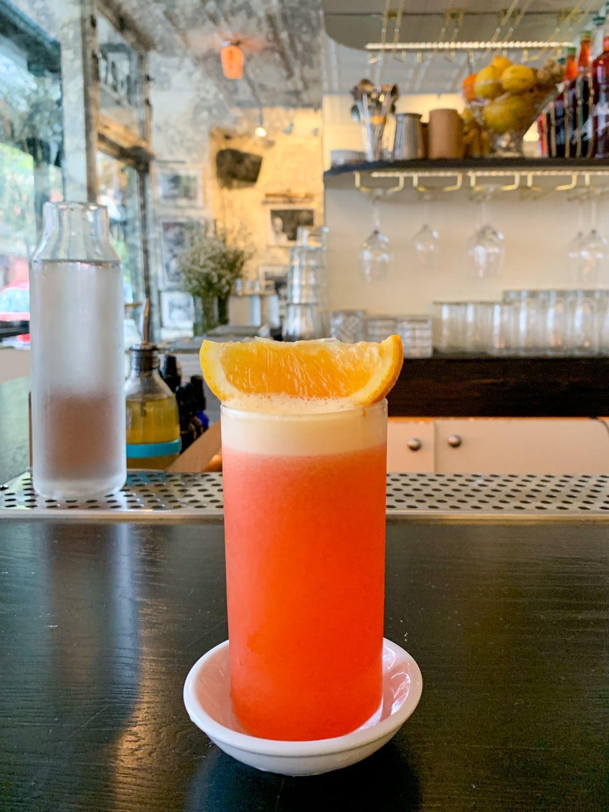 Garibaldi at Dante, one of the world's best bars