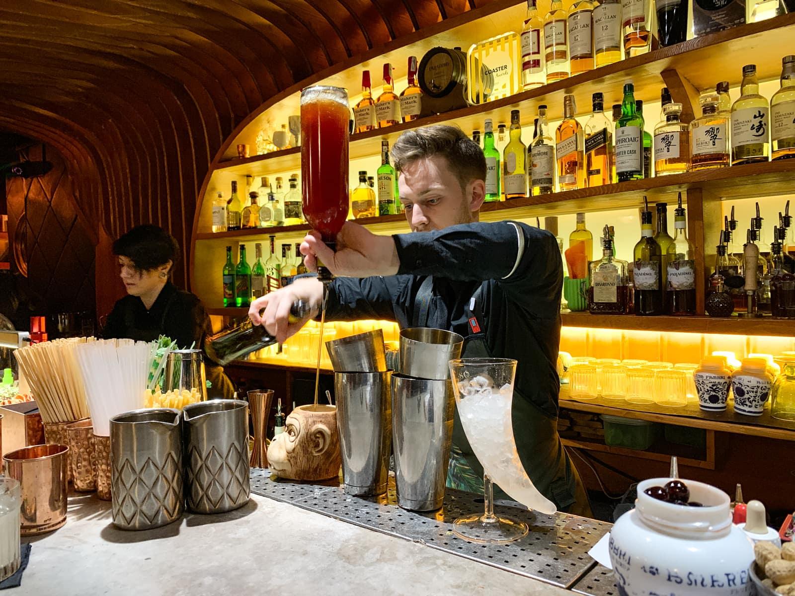 Bartender at Paradiso