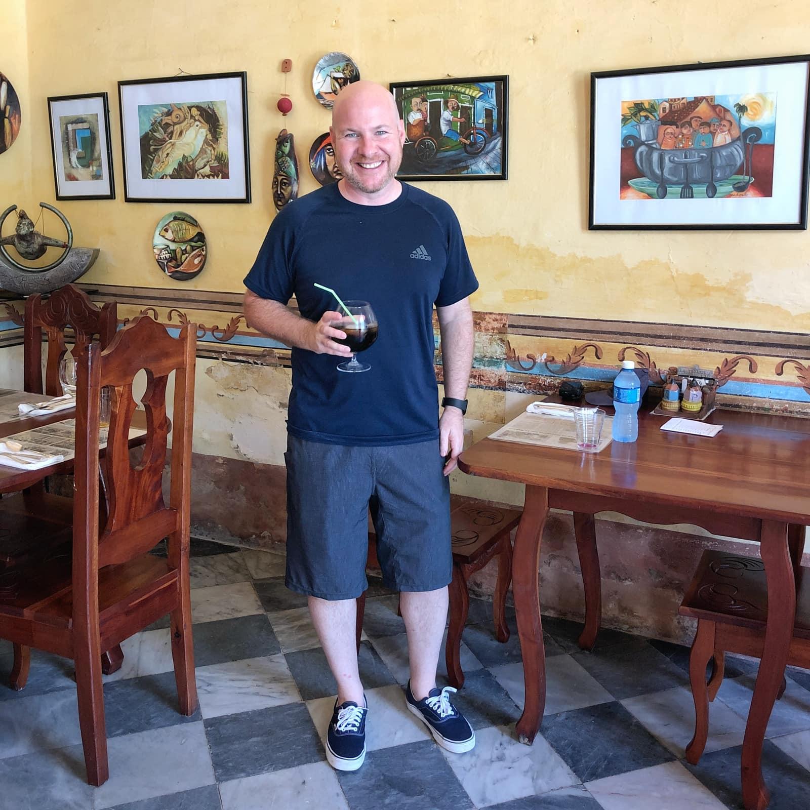 Solo lunch - Trinidad, Cuba