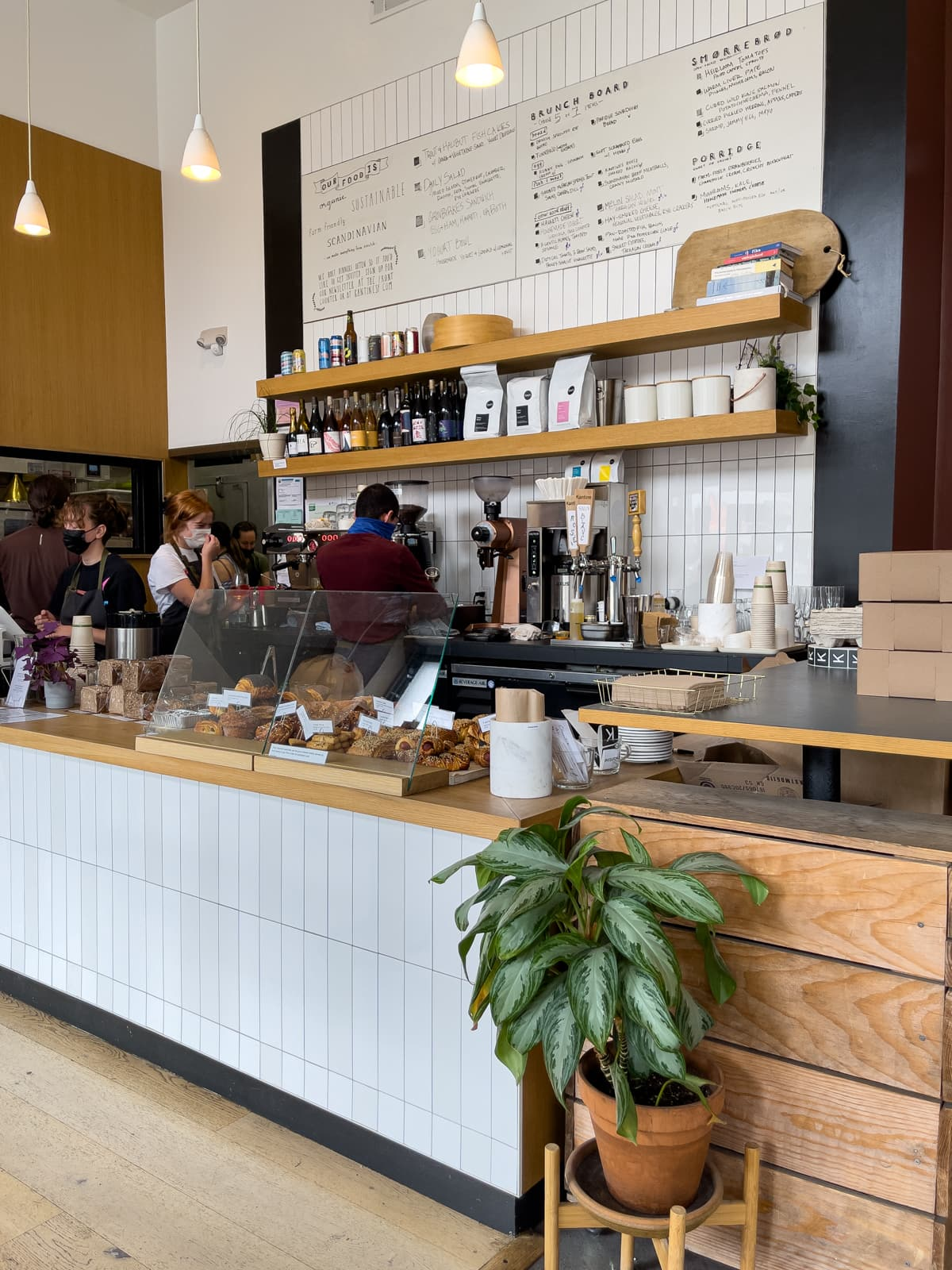 Kantine is a Scandinavian-inspired bakery in San Francisco, California