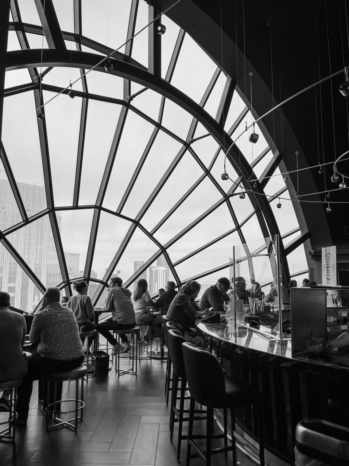 The View Lounge at Marriott Marquis San Francisco