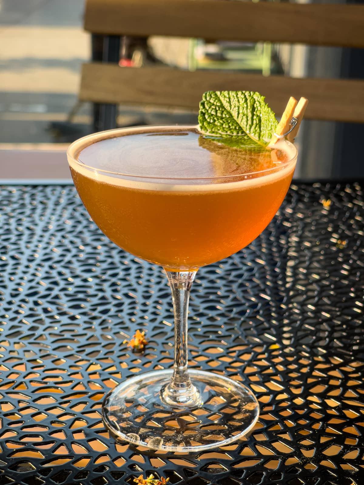 Zero-alcohol cocktail at True Laurel